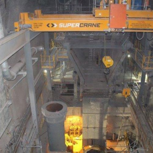 Construction of an Underground Crusher SMPE and Concrete