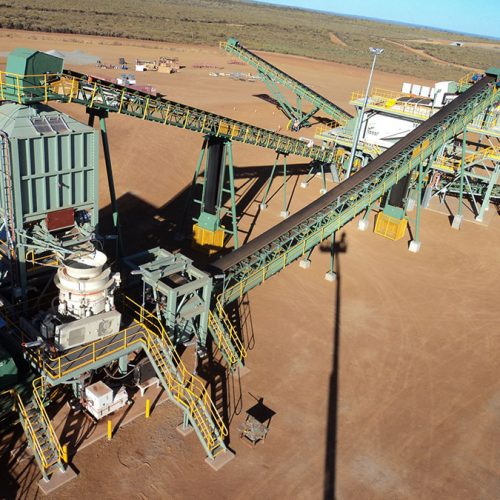 Installation of Crushing & Screening Plant