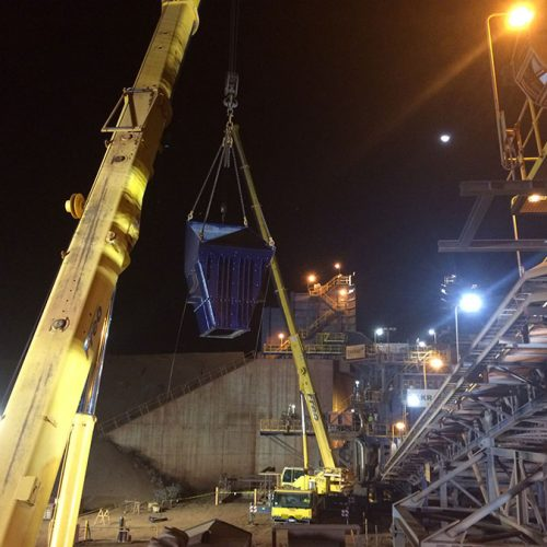Crushing Station Improvement Programme/Chute Modification